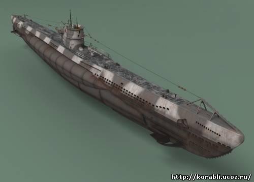 последняя подводная лодка третьего рейха